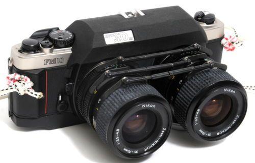 Details Sur Rare Nikon Fm10 Stereo Rbt 3d X5 Camera With Zoom