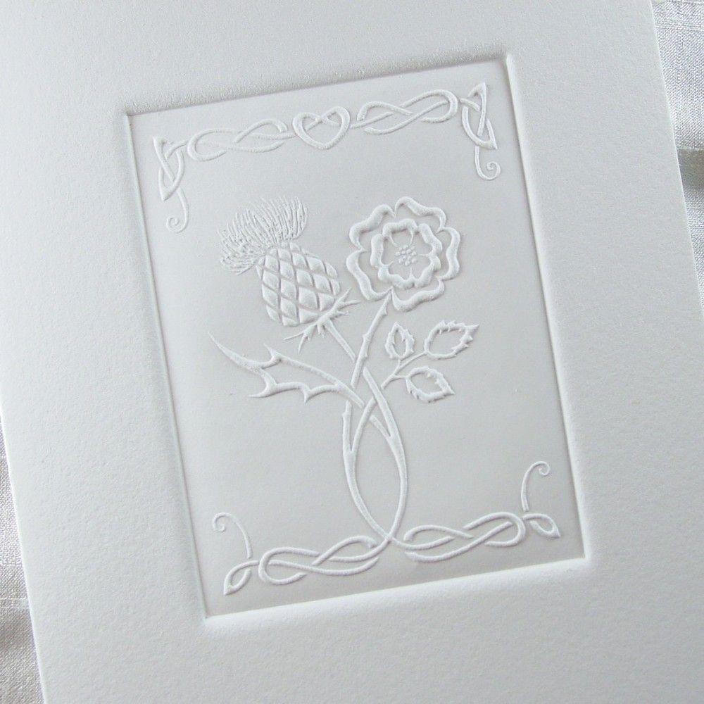 Thistle & Rose   Wedding, Celtic wedding and Wedding stationary