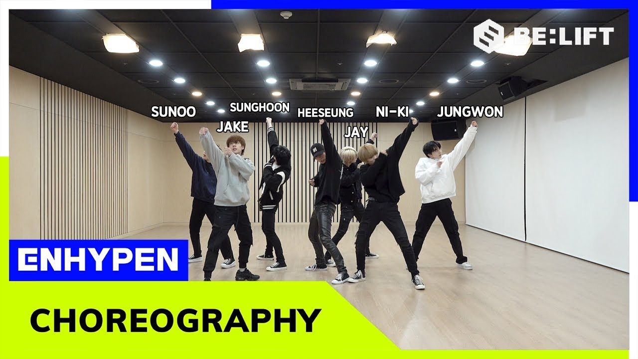 ENHYPEN 엔하이픈 'Given Taken' Dance Practice   YouTube in 20 ...