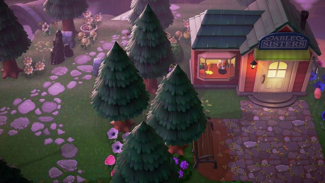 Pin By Alyssa Adair On Acnh Inspo In 2020 Animal Crossing Game Animal Crossing Christmas Tree Skirt