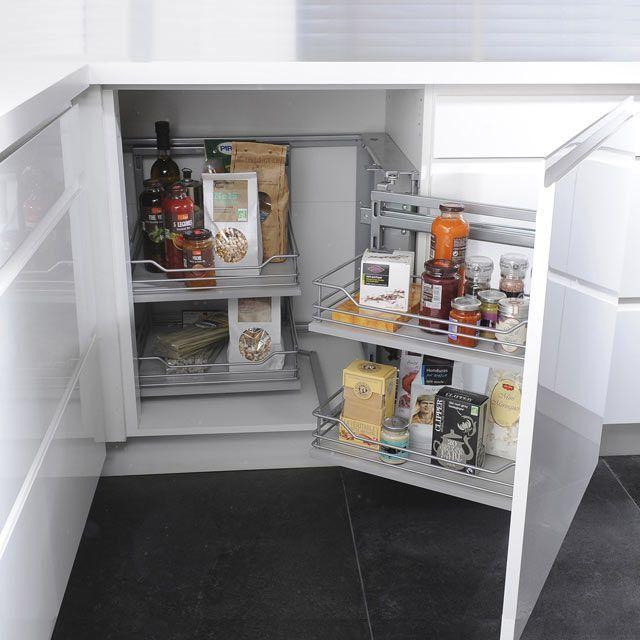 Rangement Dangle Coulissant Melton CASTORAMA Maison Cuisine - Plateau tournant meuble cuisine pour idees de deco de cuisine