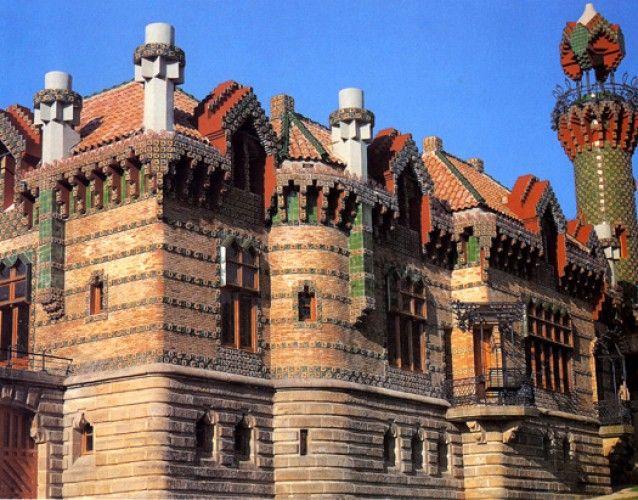 Экстерьер Capricho de Gaudí: рустик и керамика