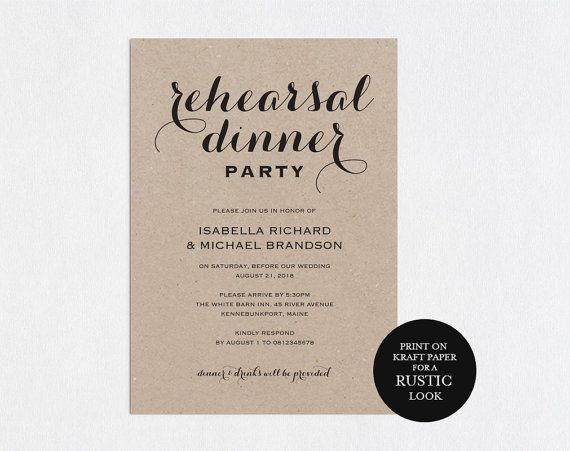 Rehearsal dinner invitation template rehearsal printable modern rehearsal dinner invitation template rehearsal printable modern invitation templates wedding rehearsal stopboris Choice Image