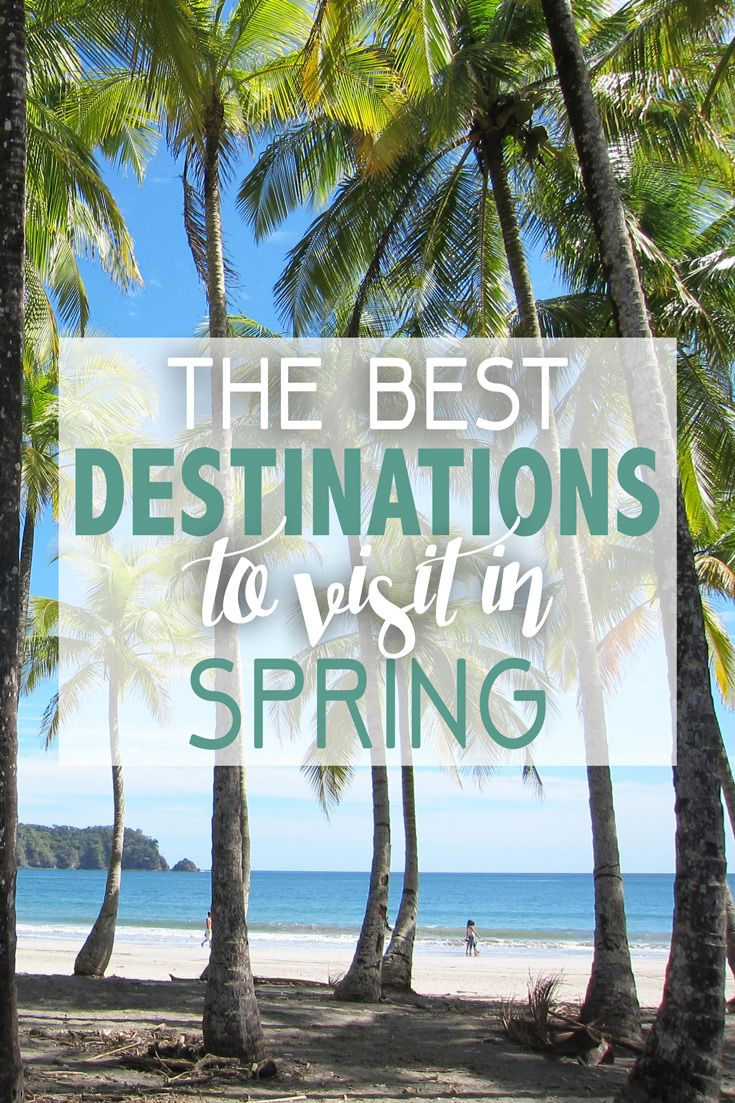 Springtime differs around the world, but some destinations truly come to life as winter starts to go away and the sunshine starts to take over. Many popular destinations see a decrease in tourism between the winter and summer peak seasons, meaning you can enjoy mild temperatures along with lower rates and less crowds in these shoulder seasons. Check out these amazing destinations to visit in spring!
