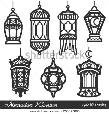 Lantern free vector for free download about 117 free for Clip lights for crafts