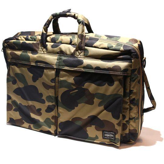 e99f3922f0 BAPE® x PORTER 1ST CAMO 3-way bag