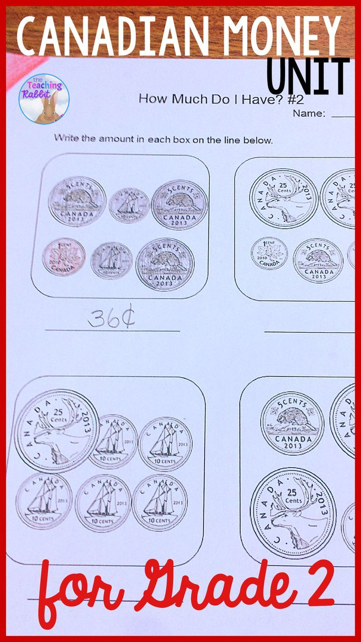 hight resolution of This Canadian money unit contains lesson ideas