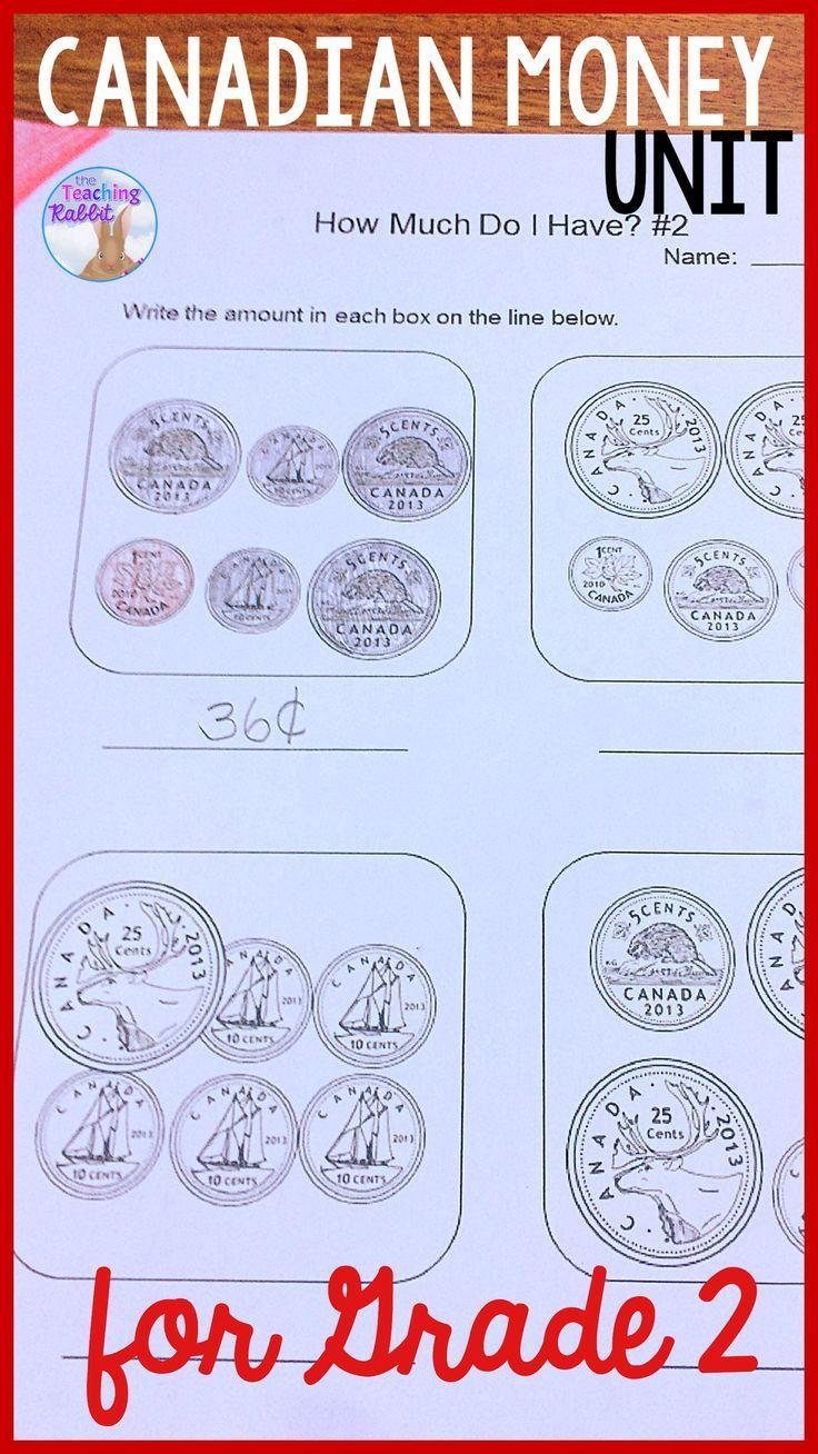 medium resolution of This Canadian money unit contains lesson ideas