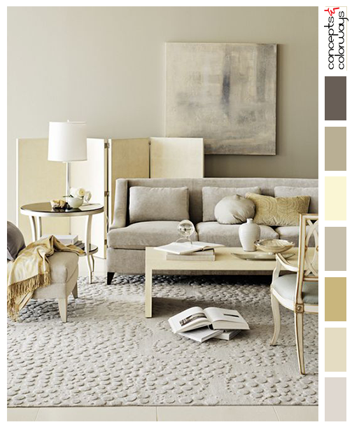Buttercream Yellow And Gray Interior Color Palette | Palettes By Project |  Pinterest | Gray Interior, Interior Colors And Interiors