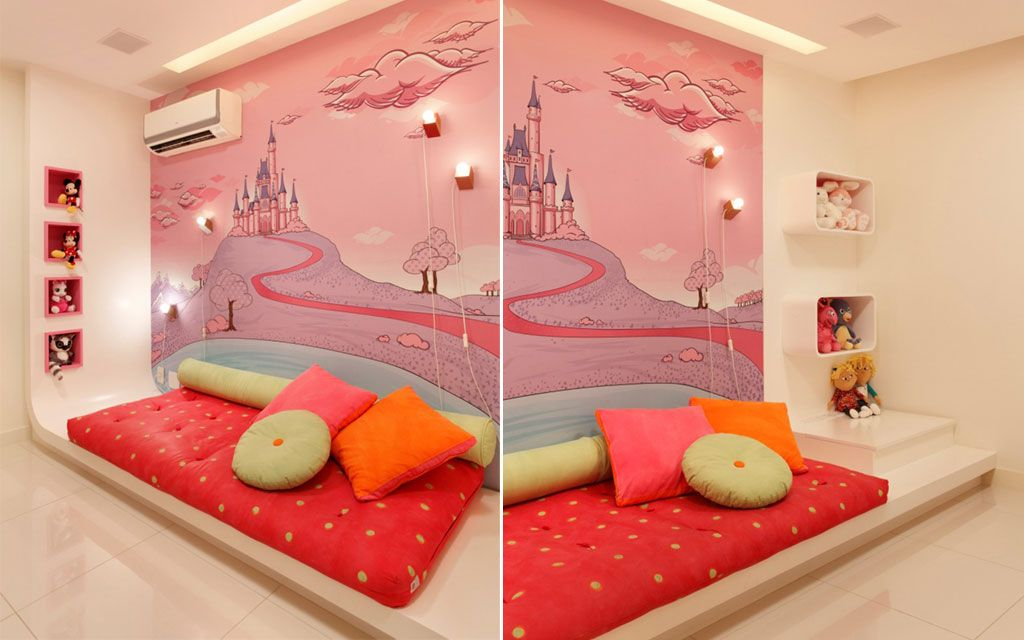 Quarto de princesa veja sugestes de decorao