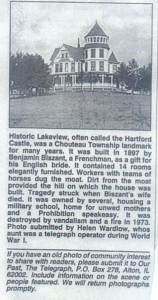 Lakeview Castle (Hartford Castle) - Hartford, Illinois | KAC ...