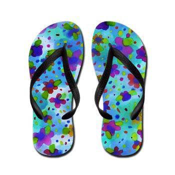 Adirondacks Flip Flops by Erin Jordan