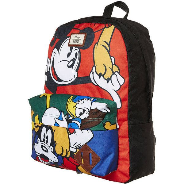 Vans Old Skool Ii Disney Backpack-22l ( 48) ❤ liked on Polyvore featuring  bags 1e0e410520b05