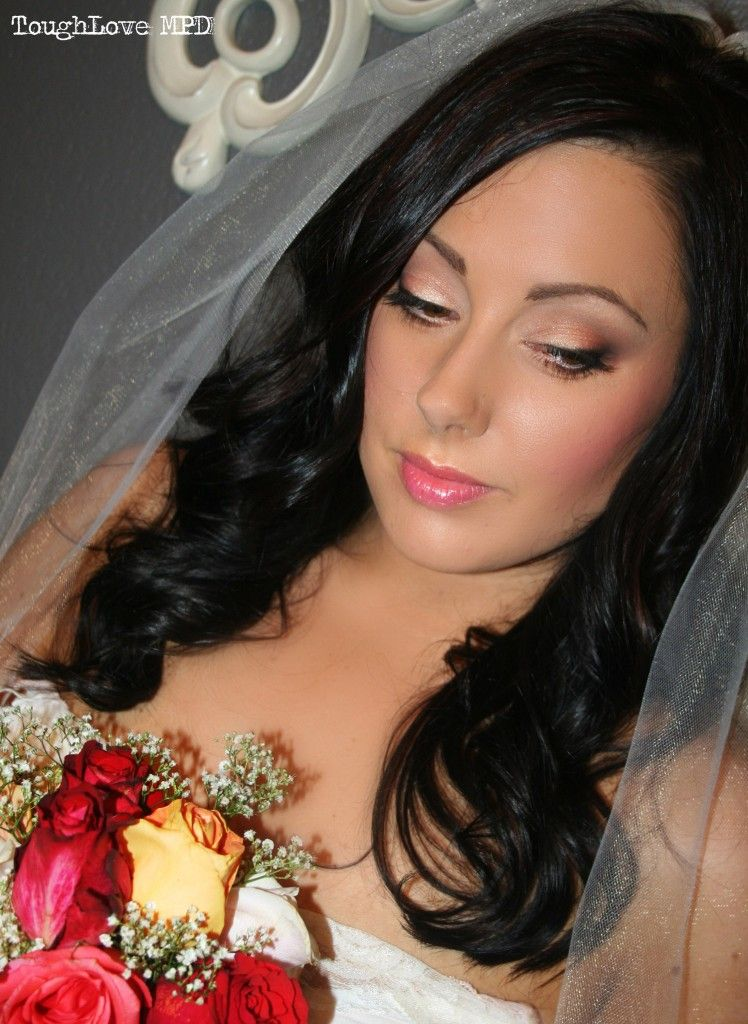 Easy Makeup For The Modern Bride The Wedding Games Wedding - Bride-makeup-games
