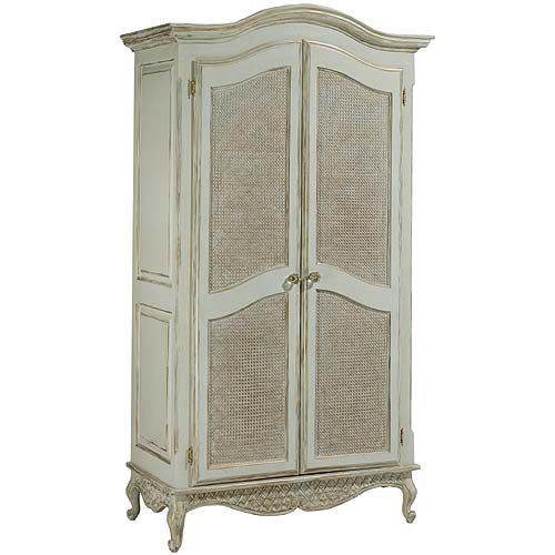 Bonne Nuit Grand Armoire With Caning In Choice Of Finish