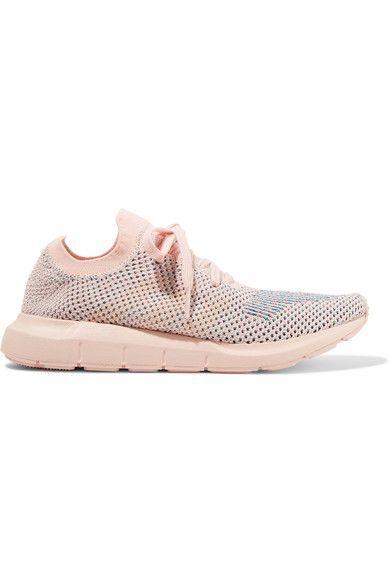 adidas originali swift run primeknit scarpe rosa pastello che