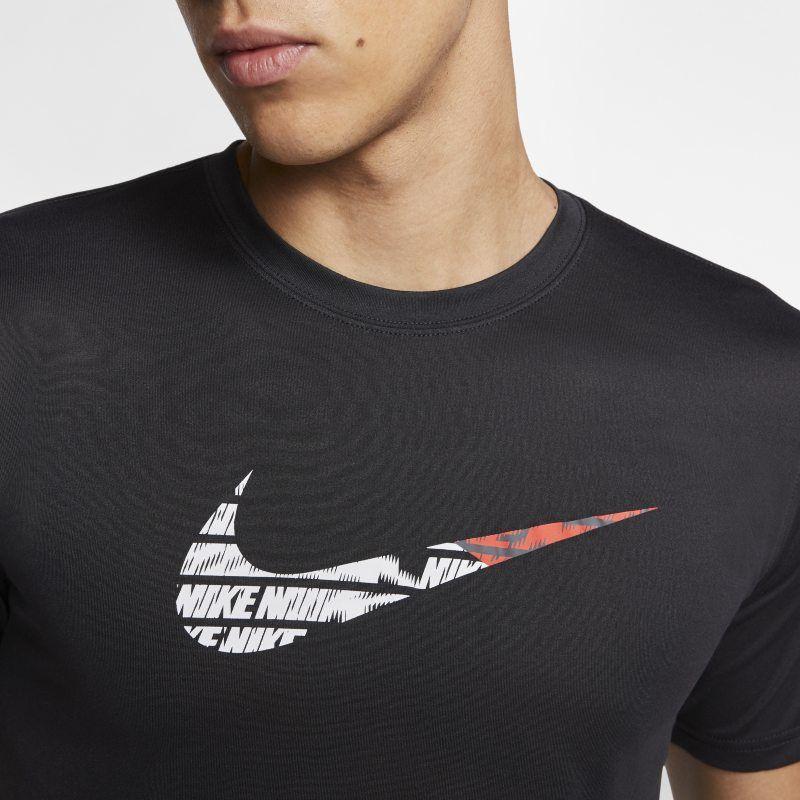 Periodo perioperatorio Deducir Sermón  Nike Dri-FIT Men's Training T-Shirt - Black | Camisetas estampadas,  Camisetas, Camiseta de hombre