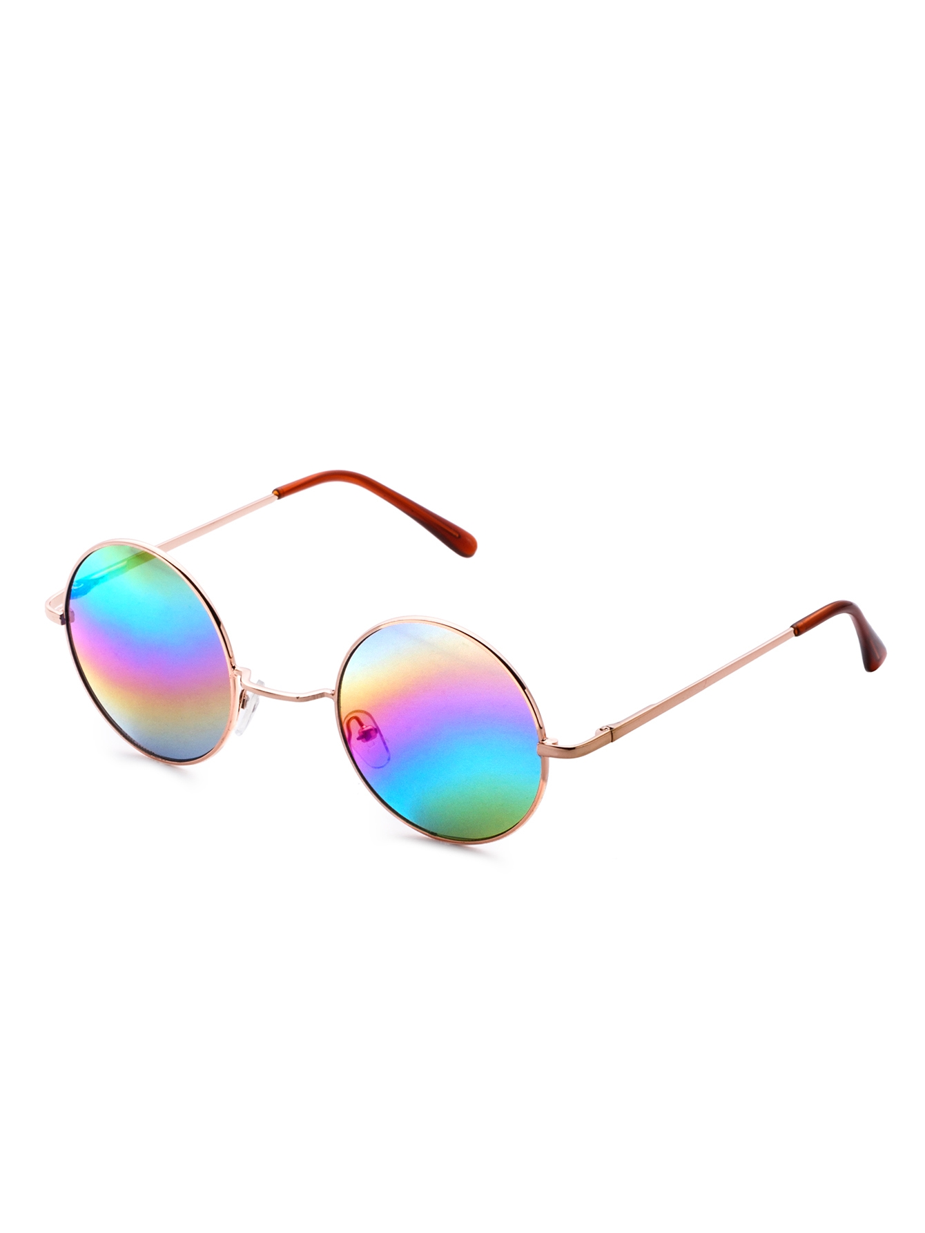 6$  Watch here - http://diqvh.justgood.pw/go.php?t=15138 - Gold Frame Colorful Lens Round Sunglass 6$