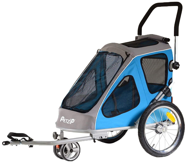 Petzip Zoom Trailer/Stroller, All Sizes *** For more