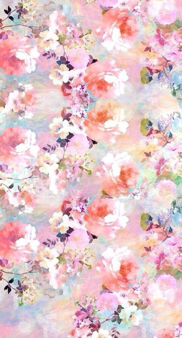 おしゃれな花柄 Iphone壁紙 Wallpaper Backgrounds Iphone66s And Plus
