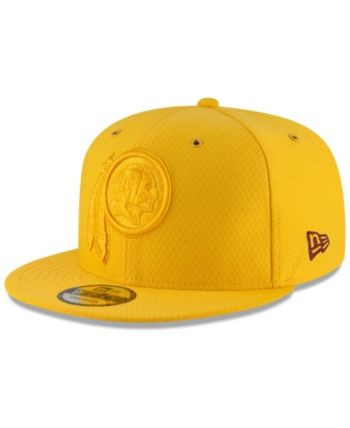 New Era Washington Redskins On Field Color Rush 9FIFTY Snapback Cap - Yellow  Adjustable bc2d35e80