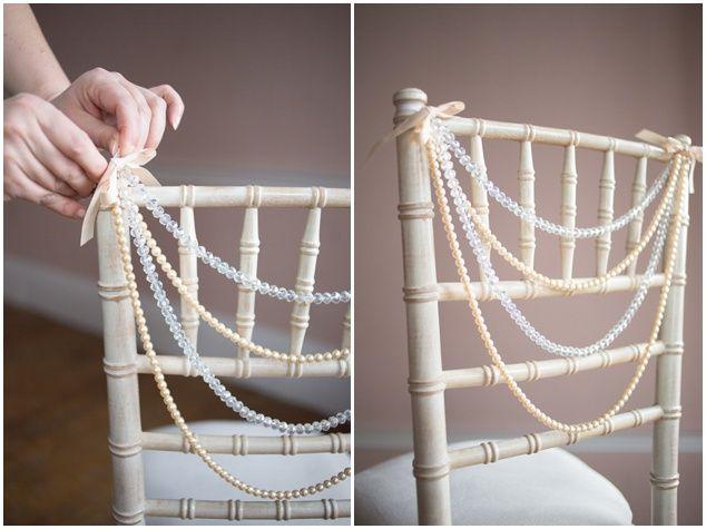 Chair Decor Ideas   Bridal Musings