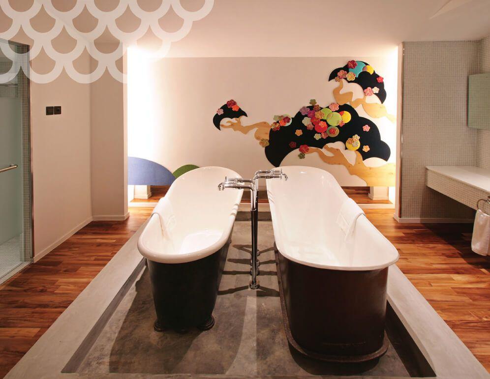 Sakura Virgin Snow Attic Suite at New Majestic Hotel