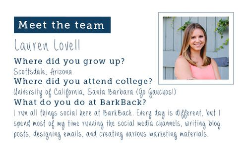 Get to know our social media leader, Lauren, on the blog.
