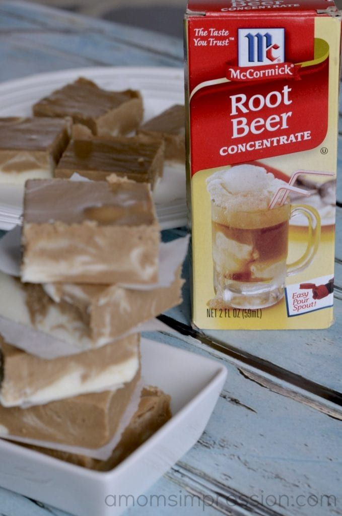 Root Beer Float Fudge Recipe - A Mom's Impression | Recipes, Crafts, Entertainment and Family Travel