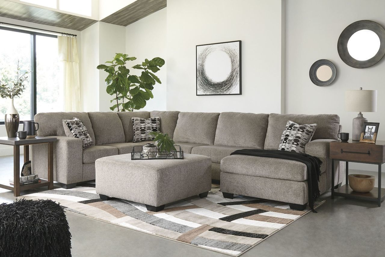 The Ballinasloe Platinum Laf Sofa Armless Loveseat Raf Corner Chaise Sectional Available At Wine Country Furnitu Ashley Furniture Furniture Living Room Sets