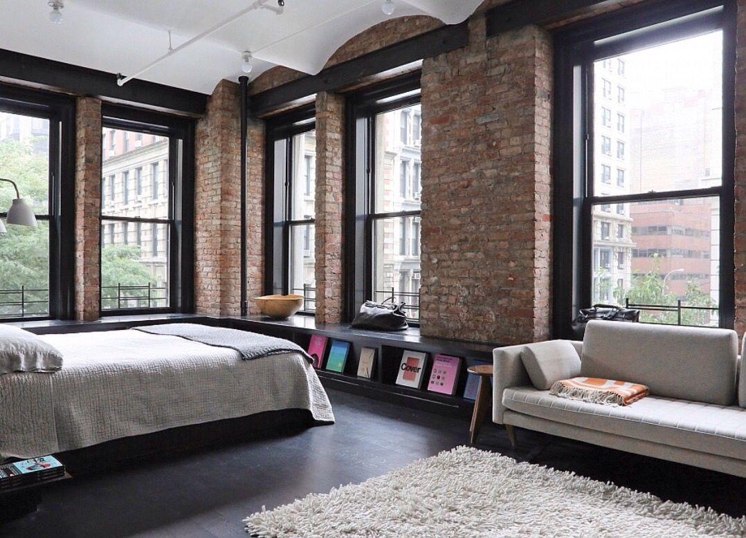 Great jones loft in nyc interior design pinterest for New york loft interior design