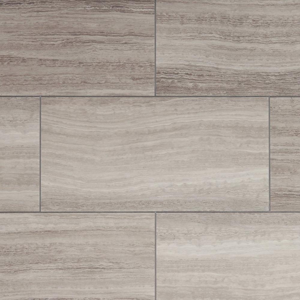 Grey Cork Flooring Kitchen: NuCore Gray Tile Plank With Cork Back