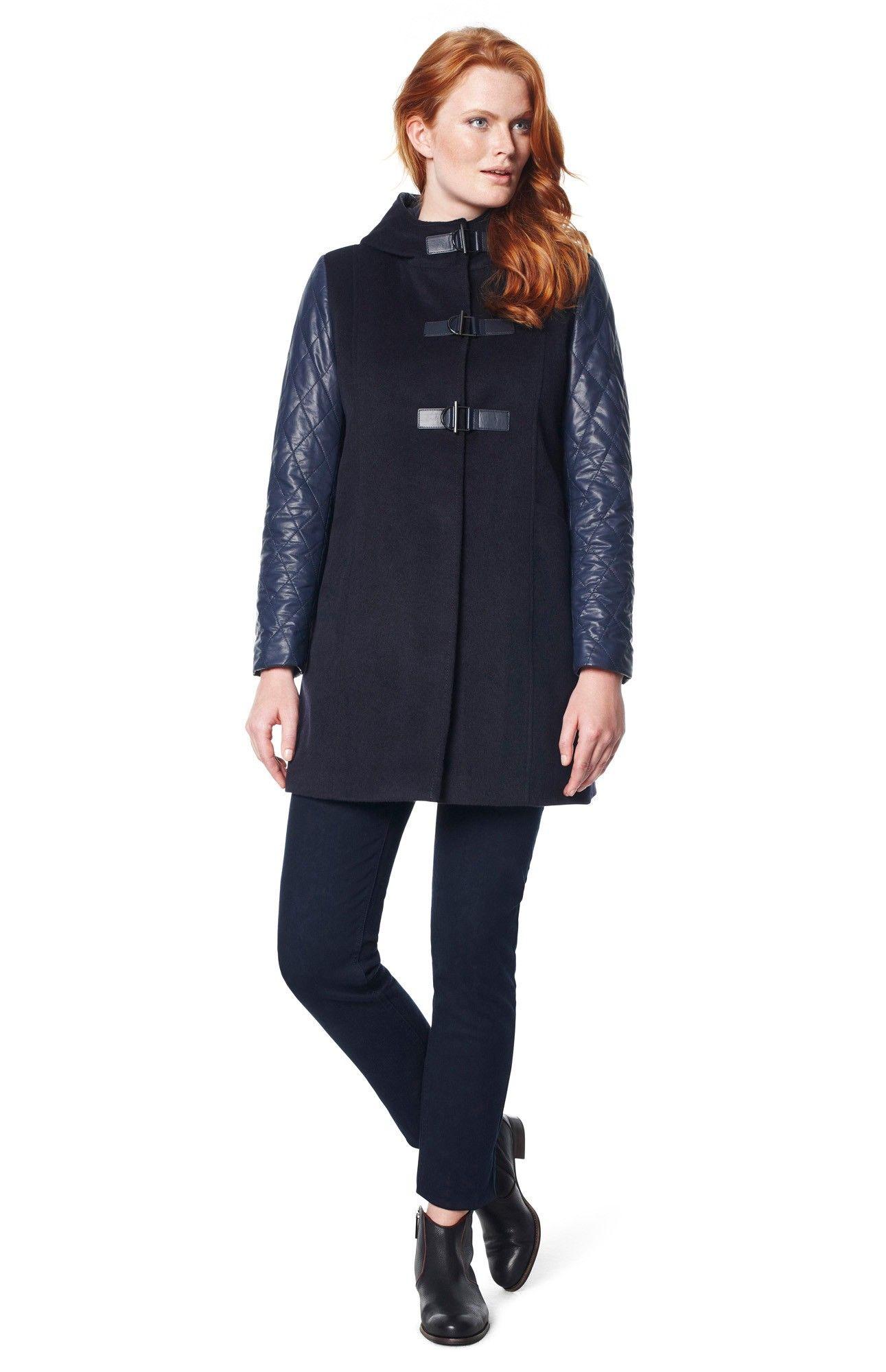 chaquet n combinado abrigos chaquetas adolfo