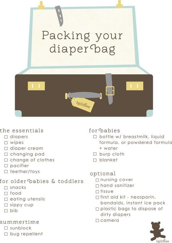 baby planning checklist