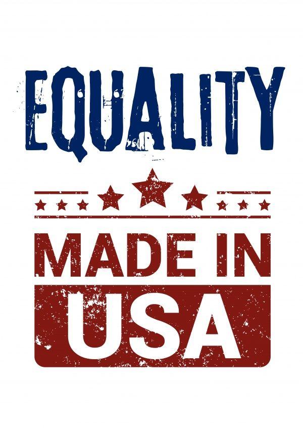 Equality made in USA | DEMOCRACY DELIVERED | Send real postcards online | Democracy Delivered