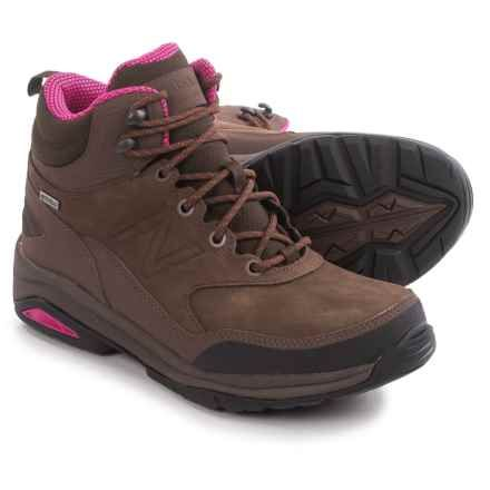 New Balance WW1400 Hiking Boots - Waterproof, Nubuck (For Women) in Brown -