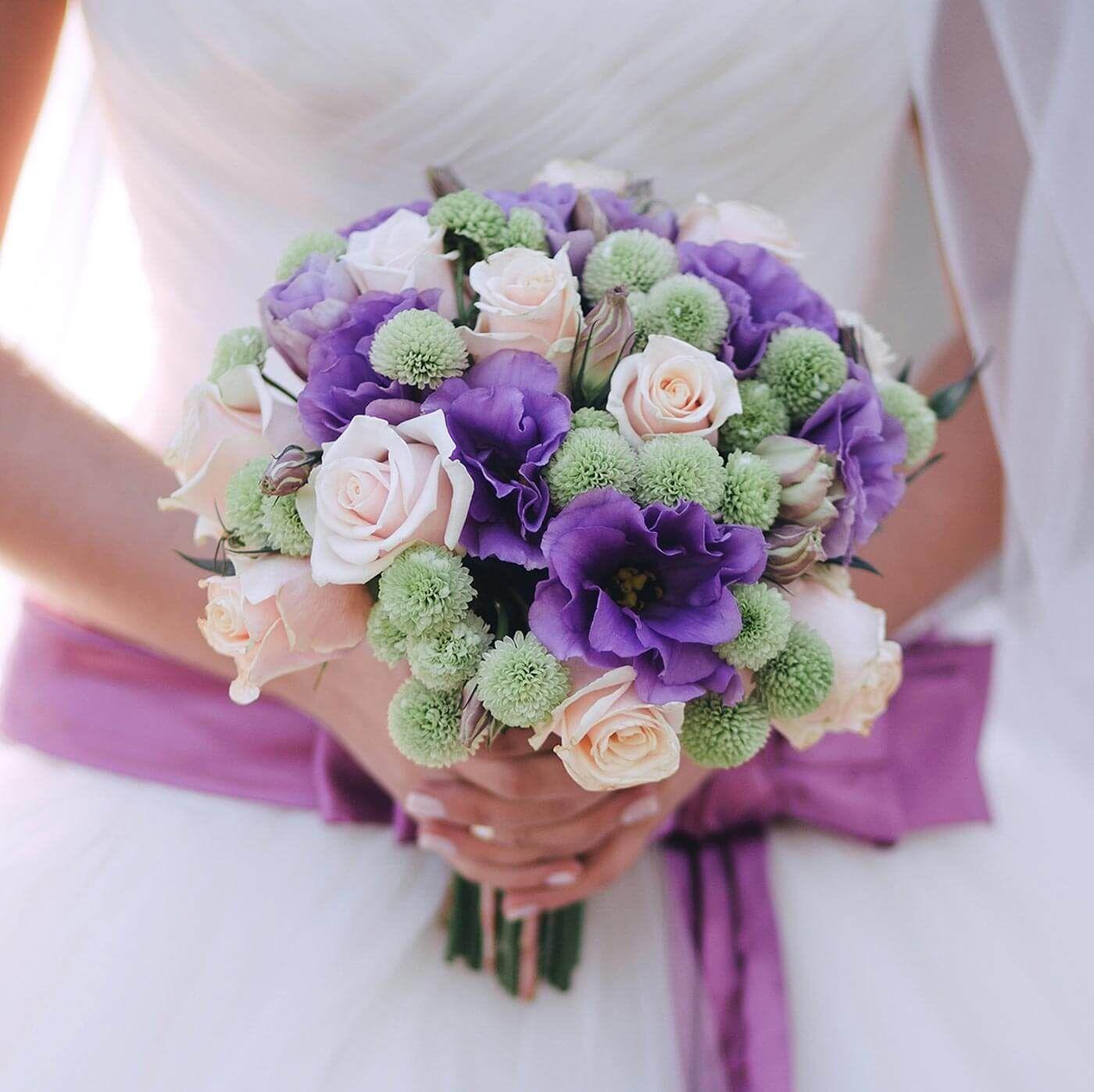 Brautstrau lila creme in 2019  Hochzeit  Brautstrue