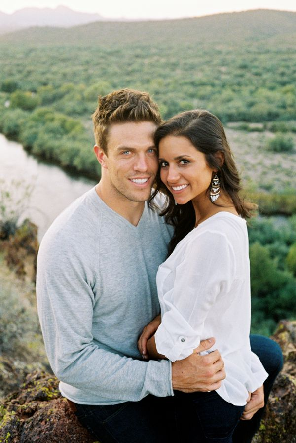 Arizona River Engagement Casual Styles Engagement And Rivers