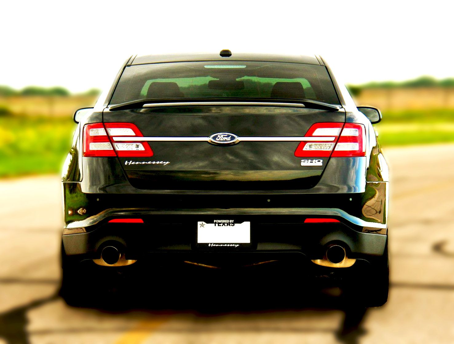 Hennessey built 2013 Ford Taurus SHO - 445 HP | Ford Through the ...