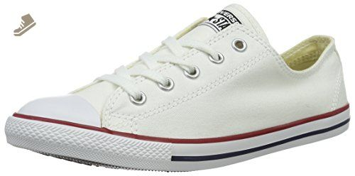 Converse Womens Dainty Canvas Sneakers in White