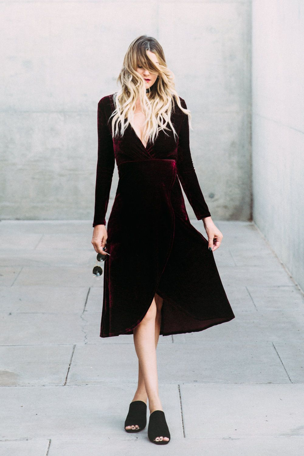 1342ca404855 Caitlin Lindquist of the fashion blog Dash of Darling shares her favorite  affordable holiday party dresses from Lulus.