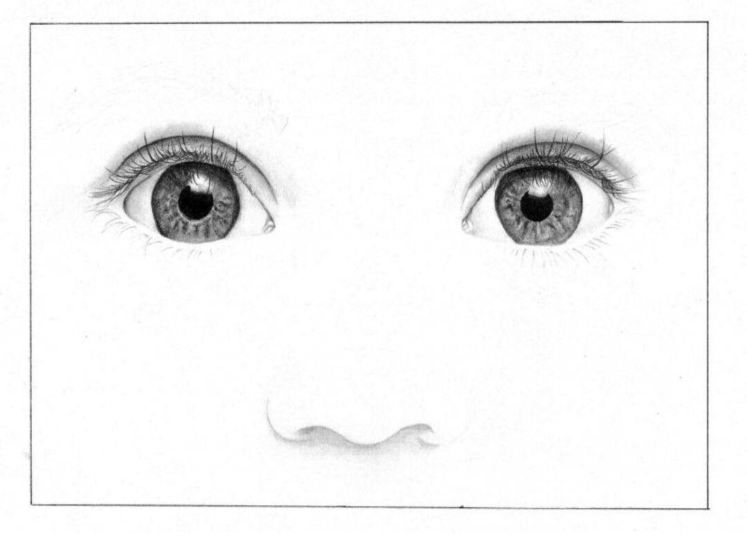 Baby Augen zeichnen
