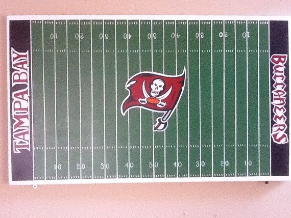 Man Cave Football Signs : Sign man cave football field wall hanging by apartworksanddesign