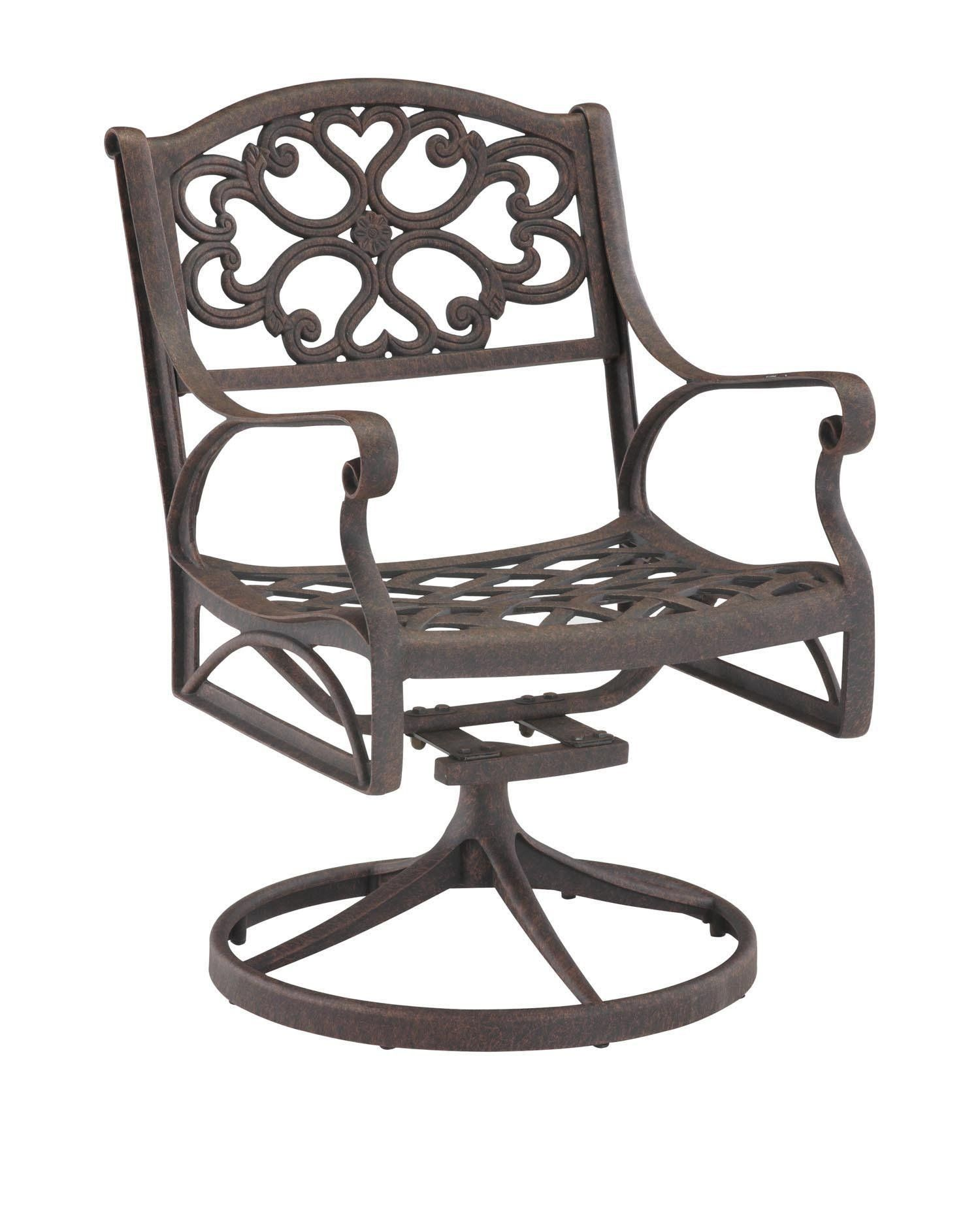 Home Styles Biscayne Bronze Rocking/Swivel Outdoor Arm