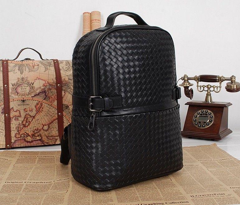 b0f9d7ab4b Intrecciato Rucksack Leather