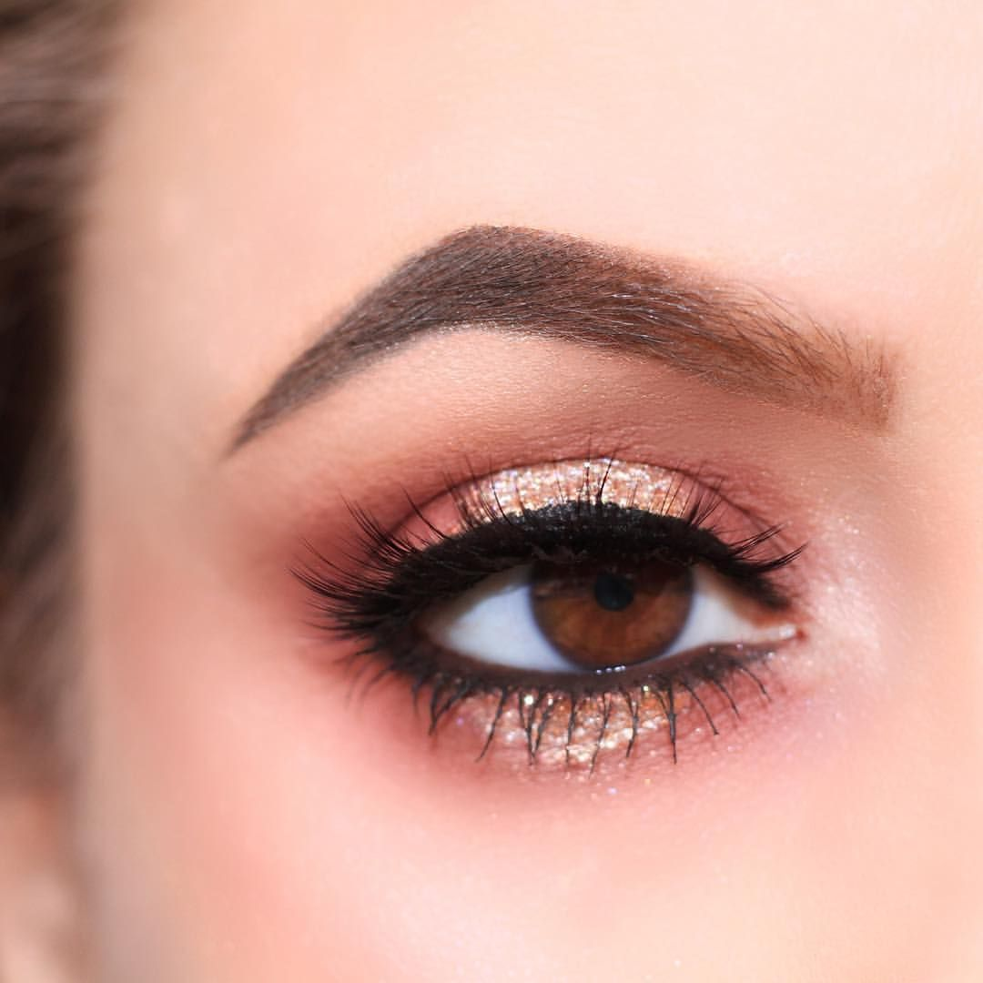 Glitter halo eye makeup and beauty pinterest makeup