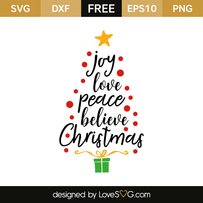 FREE SVG CUT FILE for Cricut, Silhouette and more *** Joy