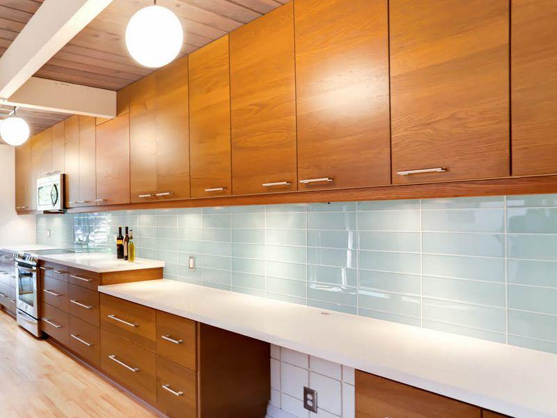 colourful ceramic tile backsplash for modern kitchen | Inspiration Gallery | DB2 Kitchen | Kitchen tiles, Kitchen ...