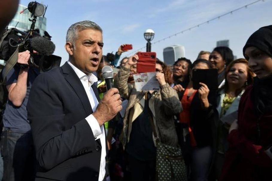 London. New London Mayor Sadiq Khan said on Tuesday he would be interested in finding a prominent site for a statue to commemorate the approaching centenary of Britain's suffragette movement which fought to give women the right to vote.  He was responding to a petition, signed by several high-profile figures including Harry Potter author J.K. Rowling and actress Emma Watson, calling for a statue of a woman to be erected in the square outside parliament - an area so far exclusively occupied…