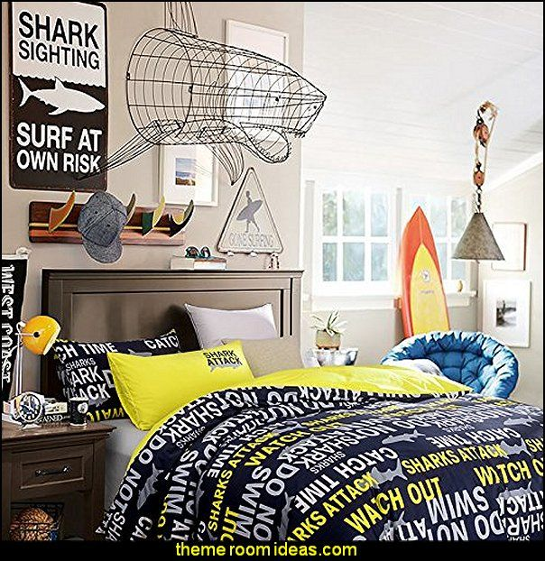 Decorating Theme Bedrooms   Maries Manor: Shark Bedrooms   Shark .